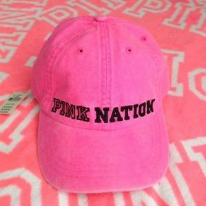 "🆕 PINK VS ""Pink Nation"" Baseball Cap"